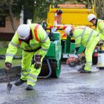 New Brancepeth Tar & Chip Roads