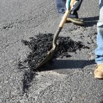 Pothole Repairs in Tantobie