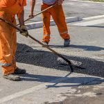 Pothole Repairs near Tanfield Lea