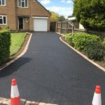 Asphalt Driveways in Leasingthorne